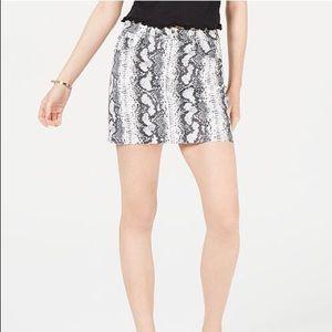 PACSUN   Snake Print Skirt   S